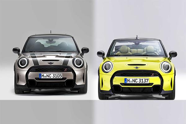 配置更新,售价上涨 2022款Mini Cooper更帅了