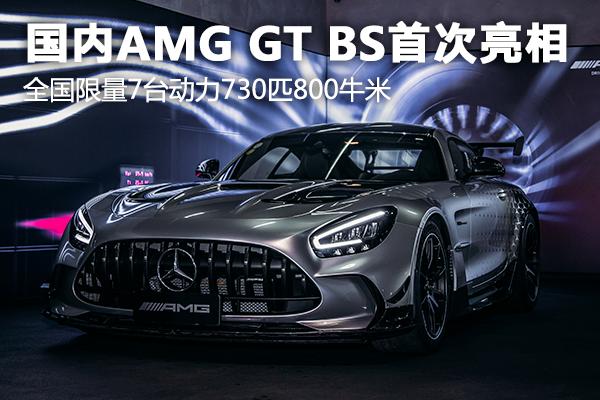 AMG GT Black Series亮相��拍