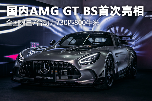 ����AMG GT Black Series亮相��拍 限量7�_�恿�730匹800牛米