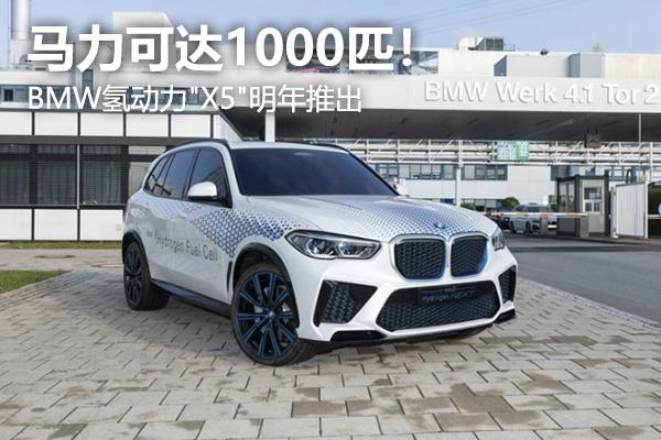 """要在氢燃料电池时代抢得先机?BMW氢动力""""X5""""明年推出"""