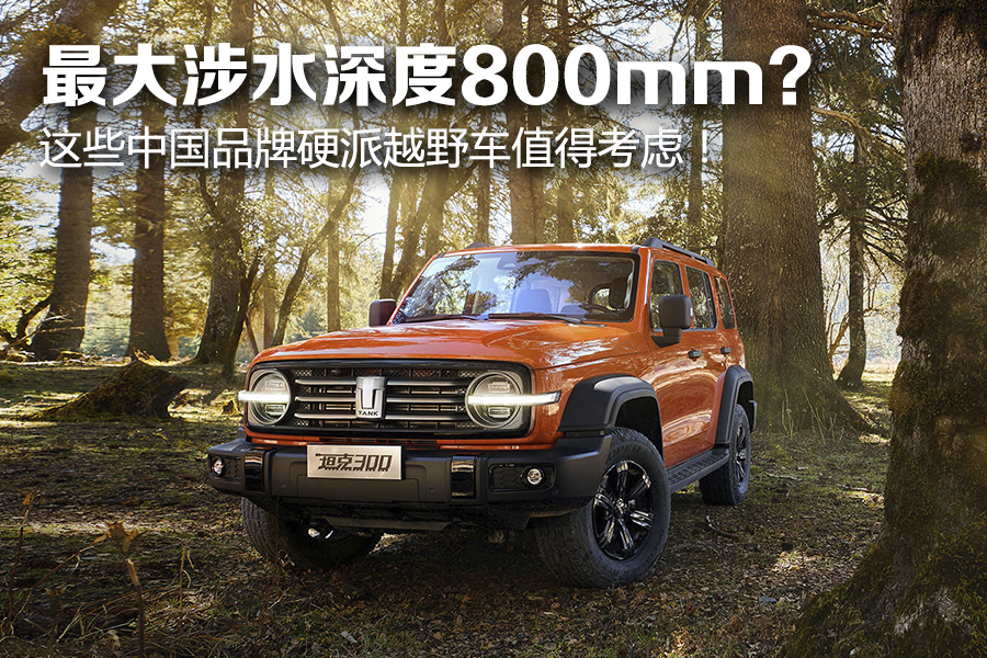 最大涉水深度800mm?这些中国品牌硬派越野车值得考虑