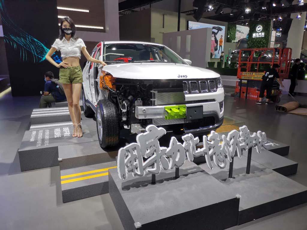 成都車展探館:都是熟悉的面孔,Jeep展臺參展陣容搶先看