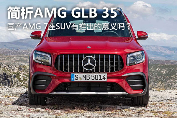 国产AMG 7座SUV谁买?